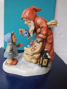 "Hummel Goebel TMK 7 St. Nicholas' Day 6 3/4"" Christmas Artist Signed/Dated/Num #Goebel"