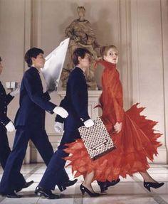 Andrea Holterhof, Vogue 1979 © courtesy Norman Parkinson Archive