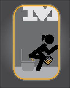 Señaletica para baño de mujeres   felipe sandoval   Flickr Toilet Signage, Bathroom Signage, Funny Toilet Signs, Funny Signs, Wayfinding Signage, Signage Design, Cool Toilets, Happy Mother Day Quotes, Design System