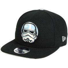 Star Wars Rogue One Iridescent 9FIFTY Snapback Cap (390 ZAR) ❤ liked on Polyvore featuring accessories, hats, cap snapback, cap hats, snapback cap, snap back cap and snap back hats