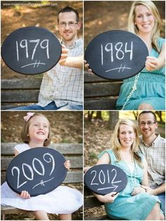 pregnany announcement with siblings | Pregnancy announcement idea: Dad, Mom, older sibling ... | Photo Ideas