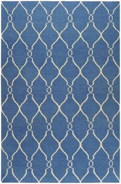 LURV! Surya Jill Rosenwald Fallon FAL100 Blue Rug. $848 for 8' x 11'