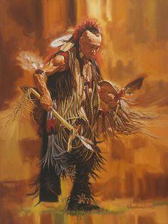 ☆ Cherokee Dancer -::- Artist Robert Tanenbaum ☆