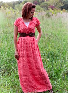 Easy Maxi Dress Pattern and Tutorial will someone make this for me please I'm sure I could figure it out but honestly I'm way to lazy...