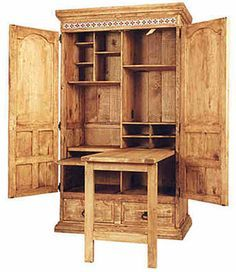 computer station on Pinterest | Computer Armoire, Armoires and ...