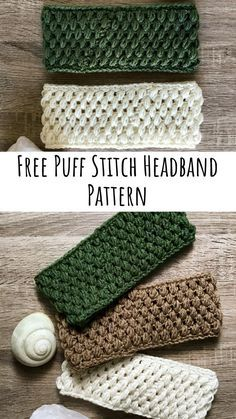 The Puff Stitch Headband Crochet Pattern is exactly what it sounds like, a headband/ear warmer made almost entirely out of puff stitches. Super easy and works up very quickly, it only takes me about an hour to make one and they are ADORABLE and extra warm for this winter season, this pattern is super easy for beginners, if you can puff stitch and single crochet, you can make this ear warmer.
