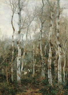 Winter in Andalusia,1880 // Emilio Sánchez-Perrier