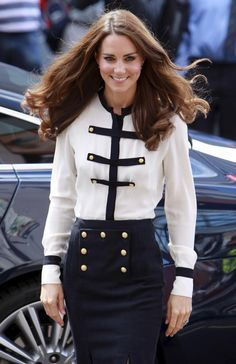 Kate Middleton and nautical-ness