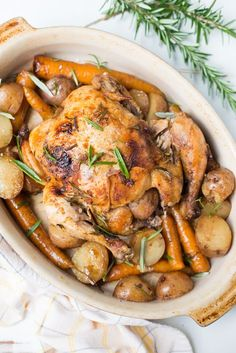 Tender, juicy, and incredibly simple to prepare, Slow Cooker Garlic Balsamic Whole Chicken is bound to become your new go-to weeknight recipe.