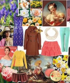Outfits in True Spring colors for the Spitfire Image Archetype. #truespring #truespringcolors #truespringoutfits #warmspring #warmspringcolors