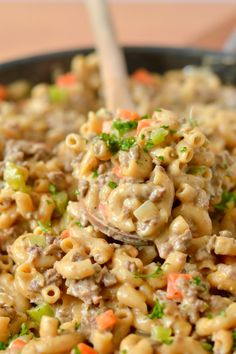 Cheesy Venison Hamburger Helper From Scratch