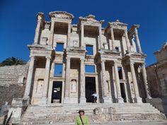 Turquia - Fachada da antiga biblioteca de Éfeso