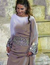 Nueva Llegada de La Piso-Longitud de Plata Con Cuentas de Lentejuelas vestidos de Baile Vestido De Moda 2016 MGS Musulmanes Vestidos de Noche Árabe Dubai Kaftan(China (Mainland))