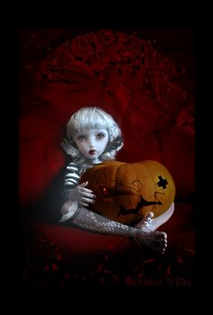 "BlueBlack - ""Halloween doll"""