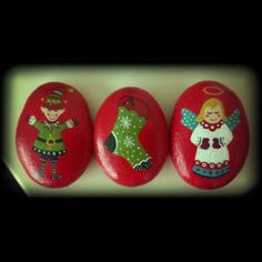Christmas rocks.