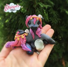 Gypsy fortune teller Halloween Horse Filly By Whisper Fillies Whisperfillies.etsy.com Unique little handmade polymer clay horse, pony, unicorn and fantasy creatures  Find my work on Instagram and Facebook too! Nerd geek geeky collectible model horse nerdy kawaii whimsical art doll dolls toy