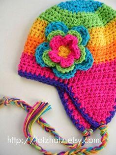 chapéu de crochê inspiração