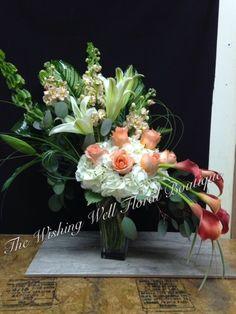 Peaches and Cream Wishing Well, Peaches, Glass Vase, Cream, Plants, Home Decor, Creme Caramel, Decoration Home, Room Decor