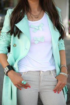26 Top Summer 2013 Fashion Trends - nice crisp colours, 3/4 sneeze creates nice illusion of feminine shape