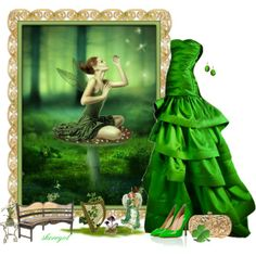 """An Irish Fairy Tale"" by sherryvl on Polyvore"