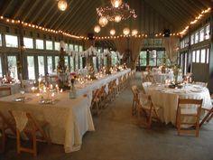 Sawyer Family Farmstead - North Carolina light wood & white lace so pretty