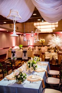 Photography: David Schwartz Photography   Lighting: Stage Right Lighting Weddings & Special Events   Designer: Missy Taylor Christianson  #wer #thecrystalclearevent