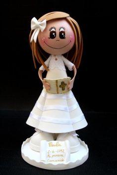 Muñeca 1ª comunión personalizada
