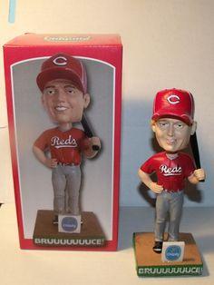 Mr Red Cincinnati Reds Mascot Bobblehead 2002 Credit Card Promo Sga In Box Rare Cincinnati