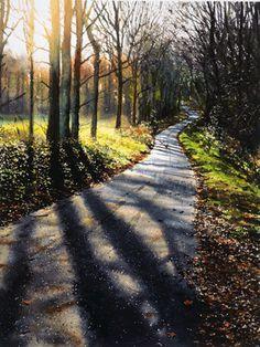Joe Dowden Watercolour Landscape Painter