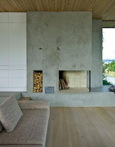 10 Eye-Opening Useful Tips: Rustic Fireplace Cabin wood fireplace outdoor.Assymetrical Fireplace Built Ins open fireplace cabin.Fireplace And Mantels Ceilings. Fireplace Built Ins, Fireplace Cover, Concrete Fireplace, Open Fireplace, Marble Fireplaces, Fireplace Remodel, Fireplace Wall, Fireplace Surrounds, Fireplace Design