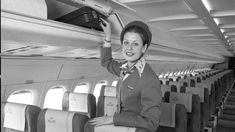 Pilots and flight attendants hook up