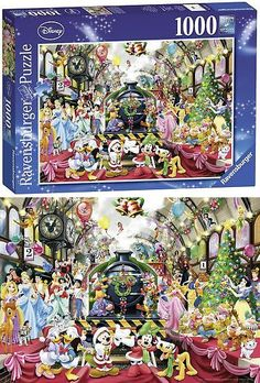 104c99f4834 Puzzles 2613  Ravensburger Disney Christmas 1000Pc Jigsaw Puzzle 19553 -   BUY IT NOW ONLY   20.01 on  eBay  puzzles  ravensburger  disney  christmas   jigsaw ...
