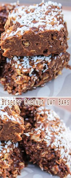2 cups rolled oats 2cups sweeten coconut 1 cup biscotti 1cup chocolate chips