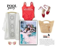 """""""Mermaid"""" by little-vogue ❤ liked on Polyvore featuring Heidi Klein, Hollister Co., Fendi, Summer, summerstyle, poolparty and fashionset"""
