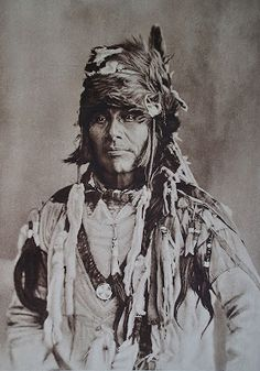 A Canadian Cree Indian  The Things I Enjoy: Pictures of North American Indians