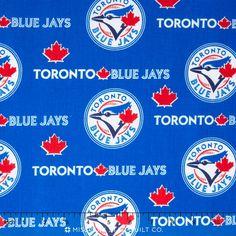 Toronto Blue Jays Logo, Missouri Star Quilt, Mlb, Fabric, Cotton, Products, Tejido, Tela, Cloths