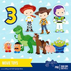 Hey, I found this really awesome Etsy listing at https://www.etsy.com/listing/129335169/movie-toys-digital-clipart-instant