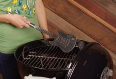 BBQ-Guitar-Spatula  #gadgets #gear #technology