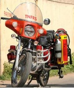 Ts fire bike images due to traffic and close roads in cities and towns the fire engines cant reach the soon. As the ts government introduced fire engine bikes.these bikes help to fire department to react immediately to the  fire spot and control the fire.
