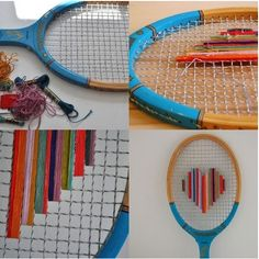 Love badminton. wedding decoration. rustic.