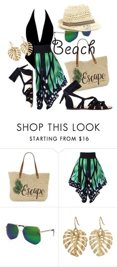"""""""Untitled #183"""" by julcatai on Polyvore featuring Straw Studios, Grey Ant and The Sak"""