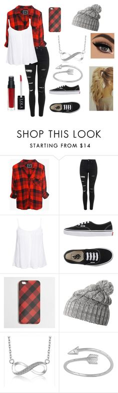 """""""Flannel"""" by paigevjacobs on Polyvore featuring Rails, Topshop, New Look, Vans, J.Crew, Helly Hansen, women's clothing, women's fashion, women and female"""
