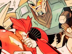 Transformers Prime - Knock Out Breakdown, Laughing Together✶ #TransformersPrime #TFP #TV_Show