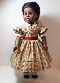 Civil War Era Dress for American Girl Addy by ThreadsOfTroy