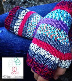 Sangria Mitts - Loops®, A yarn store in Tulsa, Oklahoma. - Powered by ePosim eCommerce