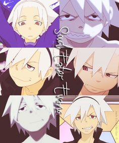 """Soul """"Eater"""" Evans..  (Collage is not mine) I can really relate to Soul a lot, he's not my favorite, but he's a really awesome character ^^"""
