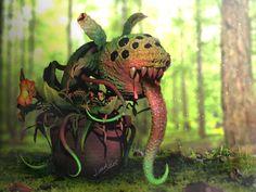 ArtStation - Plant Monster, Ree Light