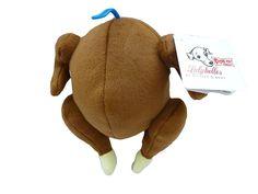 Lulubelles Power Plush Turkey Dog Toy Small #Lulubelles
