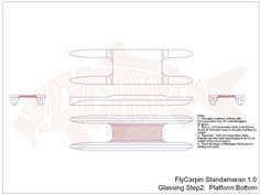 Standamaran SUP Plans Glassing Step 2