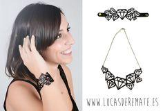 Conjunto Pulser y Collar Diamantes by Locas de Remate